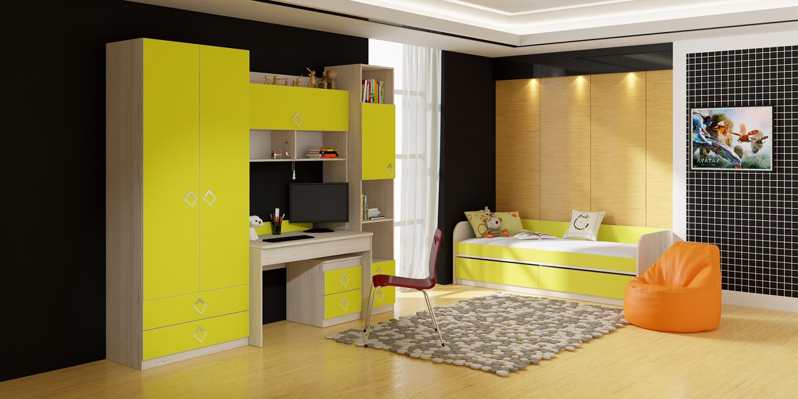 "Набор мебели для детской комнаты 8 ""аватар"" гн-201.008, купи."